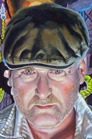 Eddie, Ben Willis, oil on canvas, 2013.